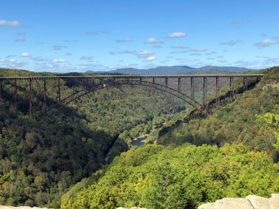 New River Gorge Bridge from Long Point
