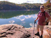 Phil at Summersville Lake