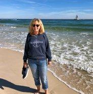 Jan on the beach