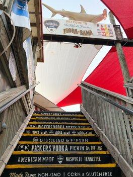 Staircase at Flora-Bama
