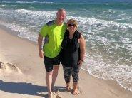 Bruce and Lori on beach