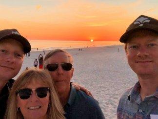 Sunset with Jason and Jarrod