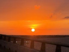 Sunsetfrom causeway bridge