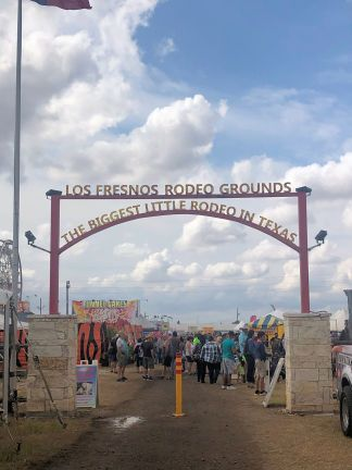 Gate to rodeo grounds