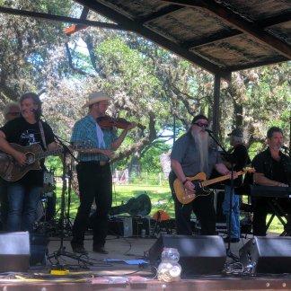 Musicians at Luckenbach