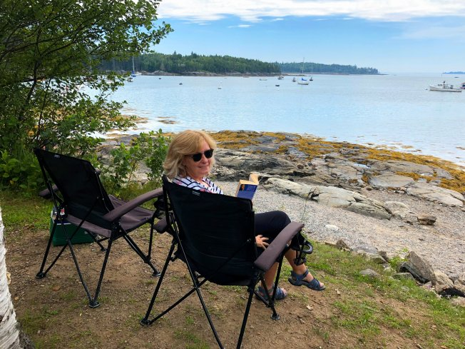 A relaxing day at Seal Cove