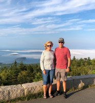 Jan and Phil on Cadillac Mtn.