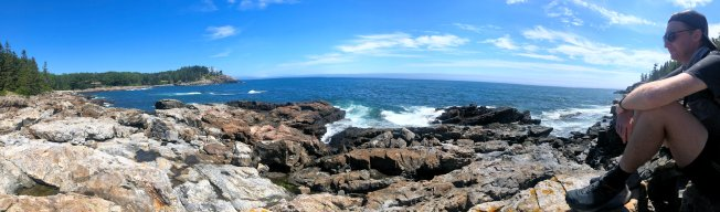 Panorama of Schooner Head