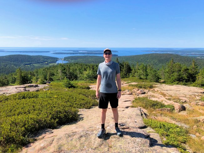 Jason from Penobscot Mtn.