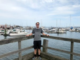 Jason at Rockland harbor