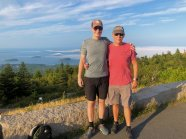 Jason and Phil on Cadillac Mtn.